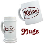 Rhino Wine Gear Mugs