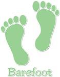 Barefoot Green - Foot Prints