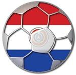 Paraguay Flag World Cup Soccer Football Futbol Bal