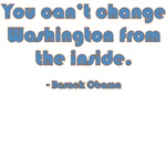You can't change Washington from the inside - Bara