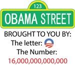 Obama Street - Letter 0 - Number 16,000,000,000,00