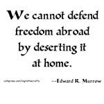 Edward Murrow Quote