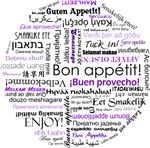 World Foods Dining Etiquette - Purple