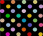 Rainbow Smiley Pattern