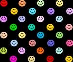 Rainbow Smiley Pattern
