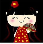 Cute Kawaii Traditional Chinese Girl Squeable