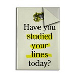 Have You Studied Lines Today?