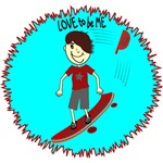 SKATEBOARDING - LOVE TO BE ME