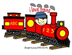 I LOVE TRAINS - LOVE TO BE ME