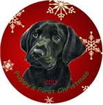 Puppy's First Christmas, Black