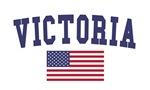 Victoria US Flag