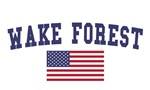Wake Forest US Flag