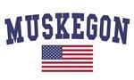 Muskegon US Flag