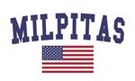 Milpitas US Flag