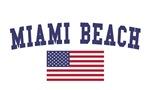 Miami Beach US Flag