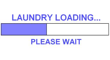 LAUNDRY LOADING...