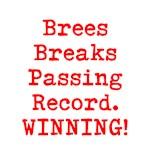 Brees Breaks Passing Record!  Winning!