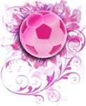 Women's Grunge Floral Soccer