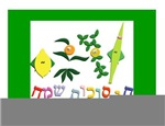 Hebrew Sukkah Greeting