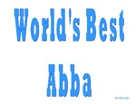 World's Best Abba