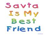 Savta is My Best Friend Hebrew Kids