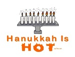 Hot Menorah Hanukkah
