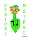 Dreidel Meidel Hanukkah