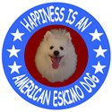 Happiness Is An American Eskimo Dog