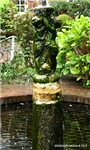 ENGLISH GARDEN STATUE FOUNTAIN