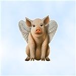 Tiny Flying Pig