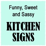 Kitchen Signs