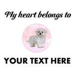 Personalized Maltese Dog