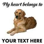 Personalized Golden Retriever T-Shirts