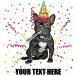 Personalized French Bulldog Birthday