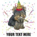 Personalized Yorkie Birthday