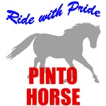 Ride With Pride Pinto Horse