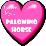 I Love My Palomino Horse