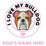 Personalized Bulldog T-Shirts