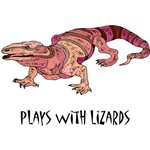 Plays With Lizards T-Shirts