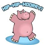Hip-Hip-Hooray Hippo
