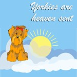 Yorkie T-Shirt - Heaven