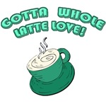 Gotta Whole Latte Love Mugs