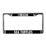 Sea Turtle License Plate Frames