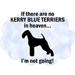 Kerry Blue Terriers In Heaven