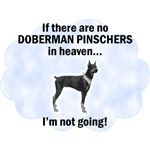 Doberman Pinschers In Heaven T-Shirt