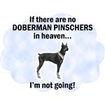 Doberman Pinschers In Heaven
