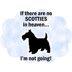 Scotties In Heaven T-Shirts