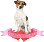 Jack Russell Terrier Valentine's Day T-Shirts