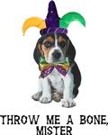 Beagle Mardi Gras