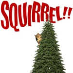 Christmas Vacation Squirrel Scene